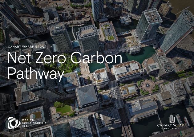 Canary Wharf Group Commits to the Climate Pledge and Sets Out Pathway to Deliver Net Zero by 2030 – 09.12.20