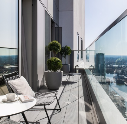 A Sneak Peek at New Show Apartments with Panoramic Views Launched at 10 Park Drive