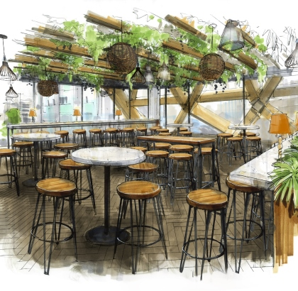Pergola On The Wharf Opening This June