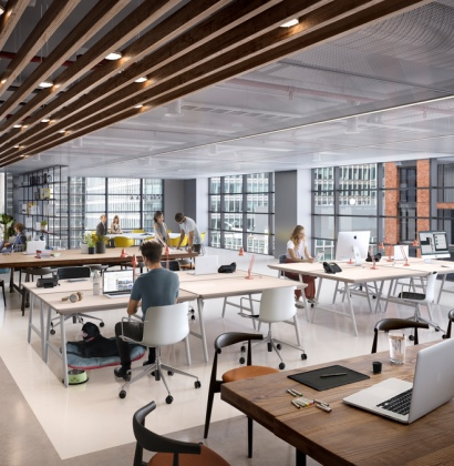 Wood Wharf workspaces