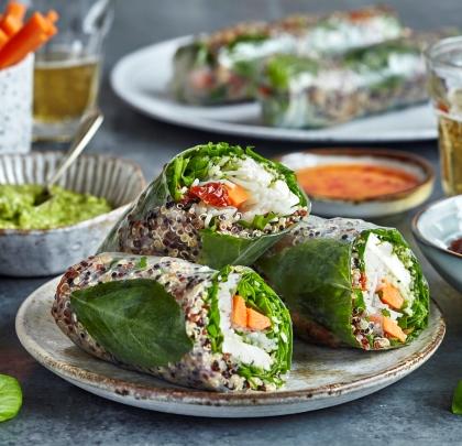 KALEIDO Salad Rolls into Canary Wharf: Salads You Eat Like a Sandwich!