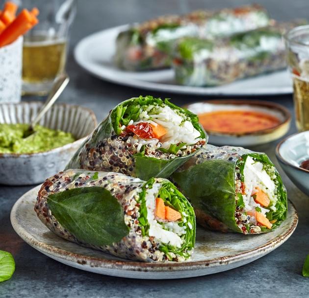 KALEIDO Salad Rolls into Canary Wharf: Salads You Eat Like a Sandwich! – 20.08.21