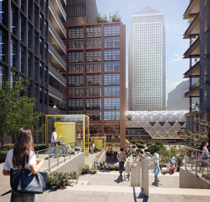 Canary Wharf Group's North Quay Scheme given green light by Tower Hamlets