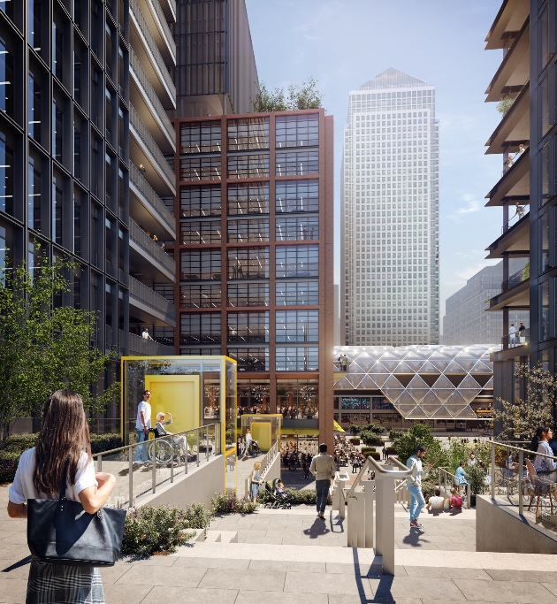 Canary Wharf Group's North Quay Scheme given green light by Tower Hamlets – 24.09.21