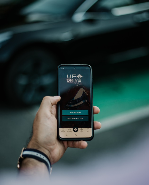 Canary Wharf, London Welcomes Fully Electric, Contactless Car Hire Service UFODRIVE – 14.10.21